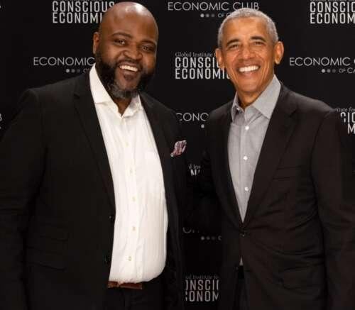 U of G grad Jeff Martin with 44th president of the United States Barack Obama