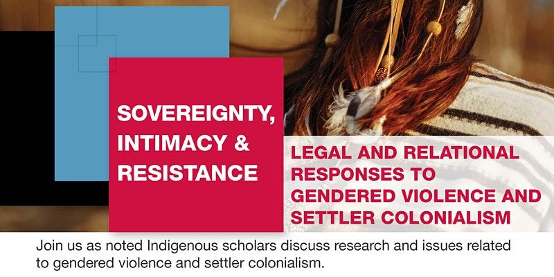 Sovereignty Intimacy Resistance