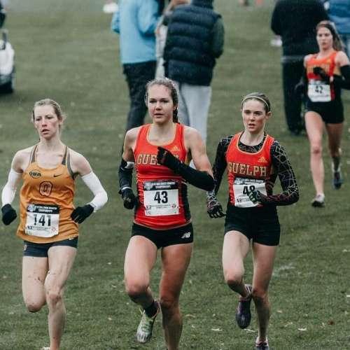 Group of women runners