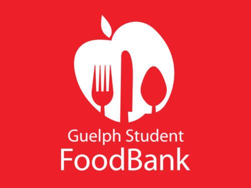 The Guelph Student Foodbank logo is shown