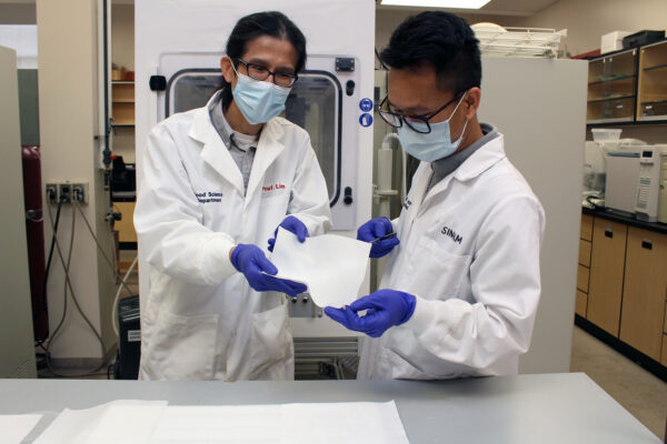 U of G Researchers Develop Plant-Based Masks to Replace Disposables